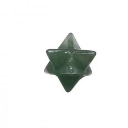 Merkabah de Cuarzo Verde