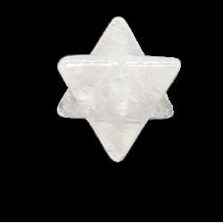 Merkabah de Cuarzo Blanco
